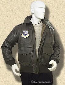 A2 Pilot Leather Jacket - Jacket