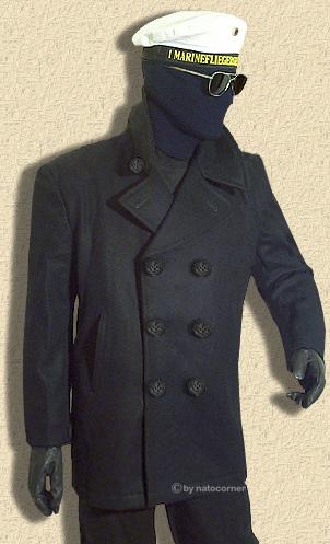 The navy pee coat